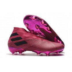 adidas Nemeziz 19+ FG Boot Pink Black
