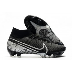 Nike Mercurial Superfly VII Elite SE FG Black Metallic Cool Grey