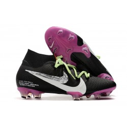 Nike Mercurial Superfly VII Elite SE FG Black White Purple