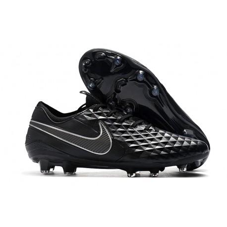 Soccer Cleats Nike Tiempo Legend VIII FG - Black