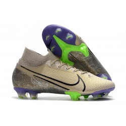 New Nike Mercurial Superfly 7 Elite FG Cleats - Desert Sand