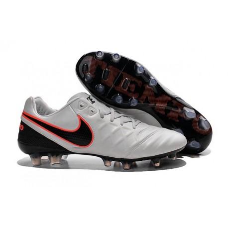 bd3060f632b2 Nike Men's Tiempo Legend VI FG K-leather Soccer Boots Pure Platinum &  Metallic Silver