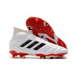 adidas Predator Mania 19.1 FG ADV Soccer Boots - White Core Black