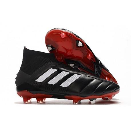 adidas New Predator 19.1 FG Mens Soccer Boots -Core Black White