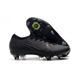 Nike Mercurial Vapor 13 Elite SG Pro Anti-Clog Black