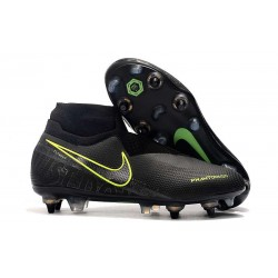 Nike Phantom Vision Elite DF SG-PRO Anti-Clog Black Volt