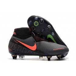 Nike Phantom Vision Elite DF SG-PRO Anti-Clog Dark Grey Bright Mango