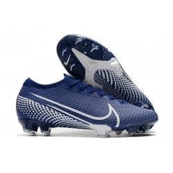 New Nike Mercurial Vapor 13 Elite FG ACC Blue White