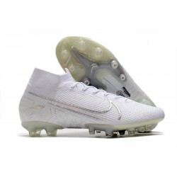 Nike Mercurial Superfly VII Elite AG-PRO Artificial-Grass White