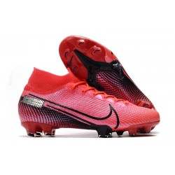 Nike Mercurial Superfly VII Elite SE FG Soccer Boot Laser Crimson Black