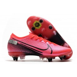 Nike Mercurial Vapor 13 Elite SG Pro Future Lab -Laser Crimson Black
