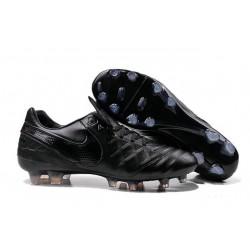 Nike Men's Tiempo Legend VI FG K-leather Soccer Boots All Black