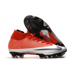 Nike Mercurial Superfly VII Elite SE FG Future DNA Red Silver Black