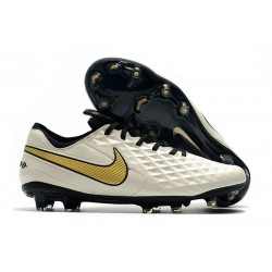 Soccer Cleats Nike Tiempo Legend VIII FG - White Gold