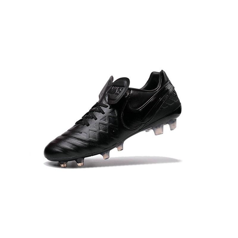 0be4790c0 Nike Men s Tiempo Legend VI FG K-leather Soccer Boots All Black Maximize.  Previous. Next