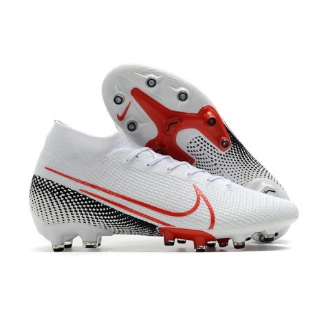 Nike Mercurial Superfly VII Elite AG-PRO Artificial-Grass White Red