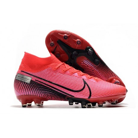Nike Mercurial Superfly VII Elite AG-PRO Artificial-Grass Crimson Black