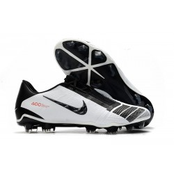 Nike Phantom Venom Elite FG Shoes - White Black Red