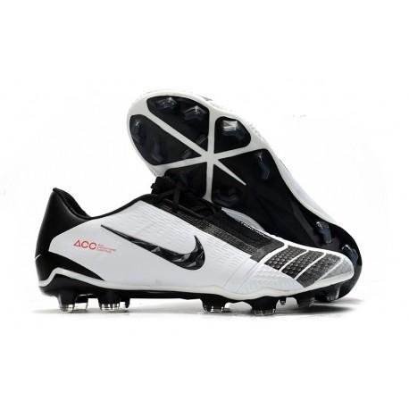 Nike Phantom Venom Elite FG Shoes - White Black Red