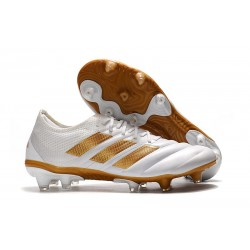 adidas Copa 19.1 FG News Soccer Shoes White Golden