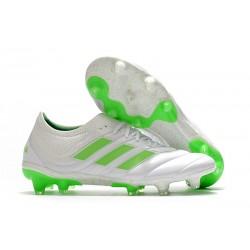adidas Copa 19.1 FG News Soccer Shoes White Solar Lime