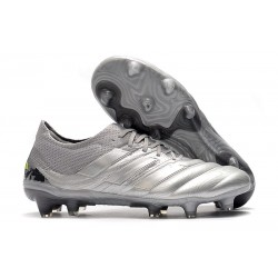 adidas Copa 19.1 FG News Soccer Shoes Silver Solar Yellow