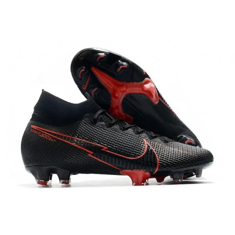 Nike Mercurial Superfly 7 Elite Dynamic Fit FG Black Red