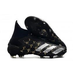 Paul Pogba Adidas Predator Mutator 20+ PP FG Core Black Solid Grey