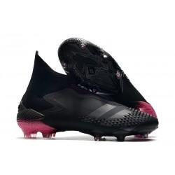 Men's Adidas Predator Mutator 20+ FG Dark Motion - Core Black Shock Pink