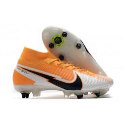 Nike Mercurial Superfly 7 Elite SG-Pro AC Laser Orange Black White