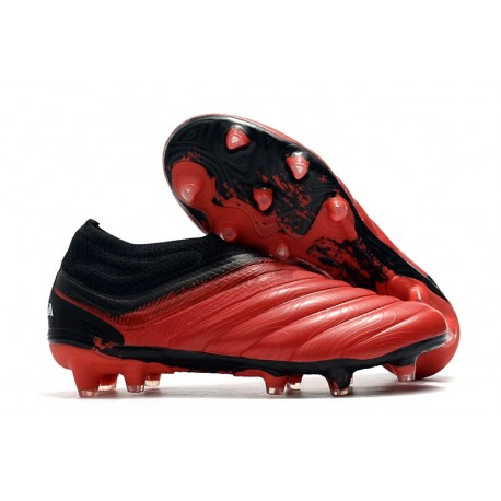 adidas Copa 20+ K-leather FG Mutator - Action Red White Core Black