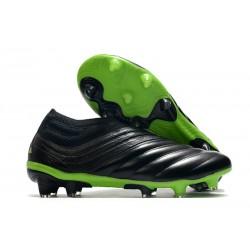 adidas Copa 20+ K-leather FG Dark Motion - Core Black Signal Green