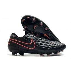 Nike Tiempo Legend 8 Elite FG ACC Boot Black Pink