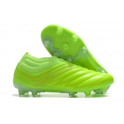 adidas Copa 20+ K-leather FG Soccer Cleat - Signal Green
