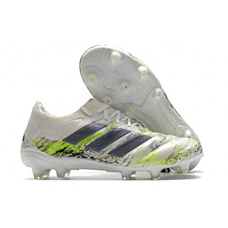 adidas Copa 20.1 FG Uniforia - White Core Black Signal Green