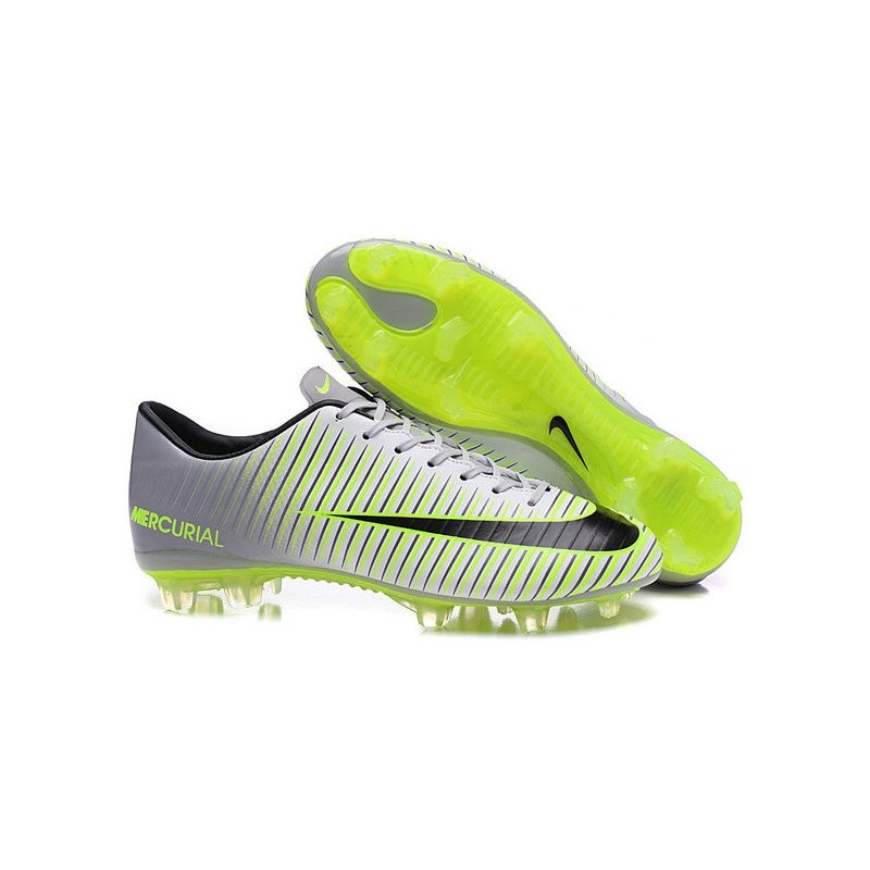 870881850 New 2016 Nike Mercurial Vapor XI FG ACC Soccer Boots Grey Green Black  Maximize. Previous. Next. Cancel Display all pictures