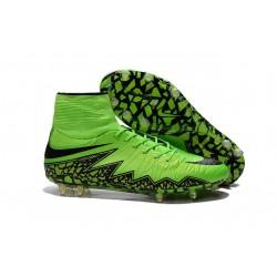 Neymar New Nike Hypervenom Phantom II FG Soccer Cleats Green Black
