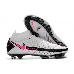 Nike Phantom GT Elite Dynamic Fit FG - White Pink Black