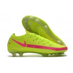 Nike Phantom GT Elite FG Firm Ground Brazil Volt Pink