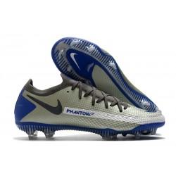 Nike Phantom GT Elite FG Firm Ground Grey Blue Black