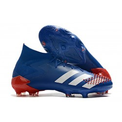 adidas Predator Mutator 20.1 FG Shoes Royal Blue White Active Red