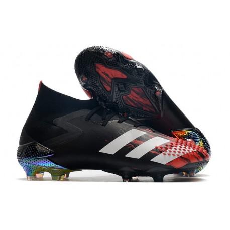 adidas Predator Mutator 20.1 FG Shoe Core Black Cloud White Active Red
