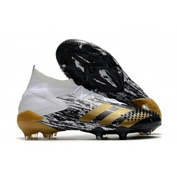 adidas Predator Mutator 20.1 FG Shoes White Gold Metallic Core Black