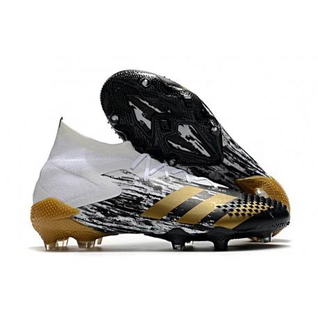 adidas Predator Mutator 20.1 FG Shoes White Gold Metallic Core Black
