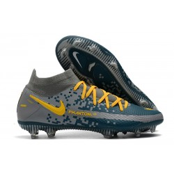 Nike Phantom GT Elite Dynamic Fit FG - Navy Grey Yellow