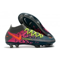 Nike Phantom GT Elite Dynamic Fit FG - Navy Gray Pink