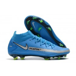 Nike Phantom GT Elite Dynamic Fit FG - Blue Silver