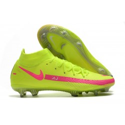 Nike Phantom GT Elite DF FG New 2021 Green Pink