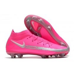 Nike Phantom GT Elite Dynamic Fit FG - Pink Blast Silver