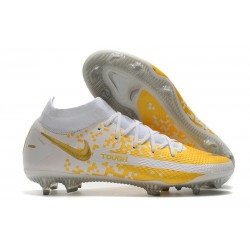 Nike Phantom GT Elite DF FG New 2021 White Golden